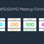 Meetup Format Roadmap
